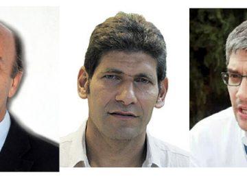 Gerardo Rabinovich, Sebastián Scheimberg y Mauricio Roitman