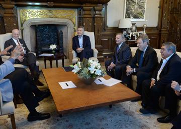 Otros tiempos: no había grieta entre Mauricio Macri y Paolo Roca